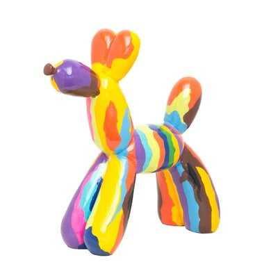 Calkins Graffiti Balloon Dog Figurine - Wayfair
