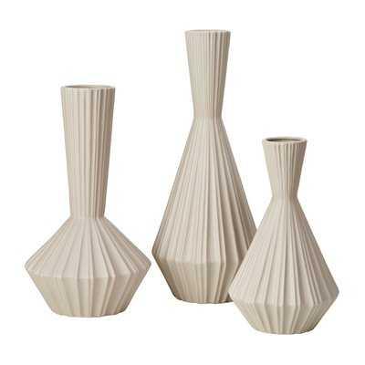Lucia 3 Piece Table Vase Set - Wayfair