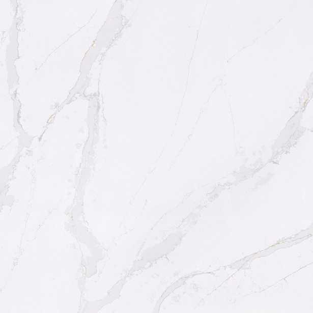 4 in. x 8 in. Quartz Countertop Sample in Calacatta Gold, High Gloss - Home Depot