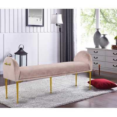 Stovall Upholstered Bench - Wayfair