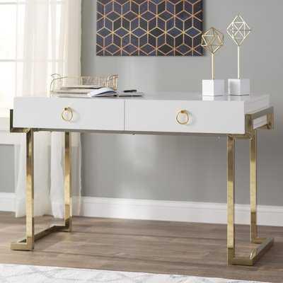 Julia 2 Drawer Desk - Wayfair