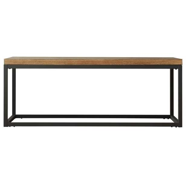 Touchard Brown Coffee Table - Home Depot