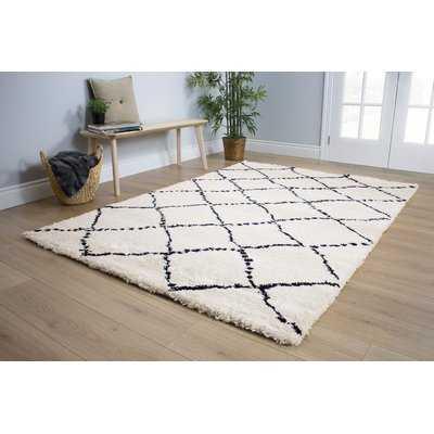Delgadillo White/Black Area Rug - Wayfair