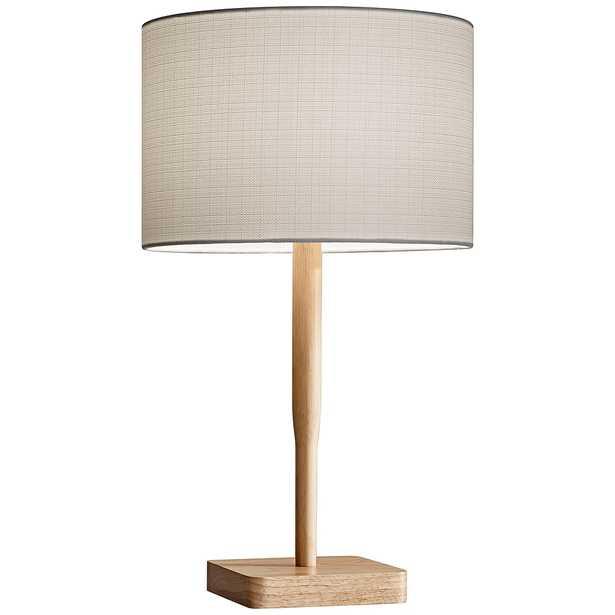 Ellis Natural Rubberwood Table Lamp - Style # 12R95 - Lamps Plus