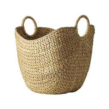 Curved Basket, Large, Natural - West Elm