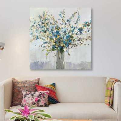 'Bouquet' Print on Canvas - Wayfair