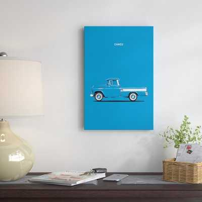 '1957 Chevrolet Cameo' Graphic Art Print on Canvas - Wayfair