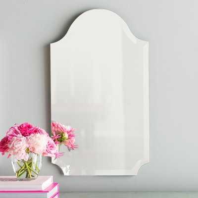 Dariel Tall Arched Scalloped Wall Mirror - Wayfair