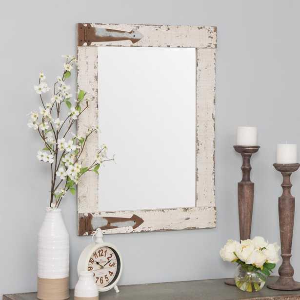 Serenad Farmhouse Wall Mirror - Home Depot