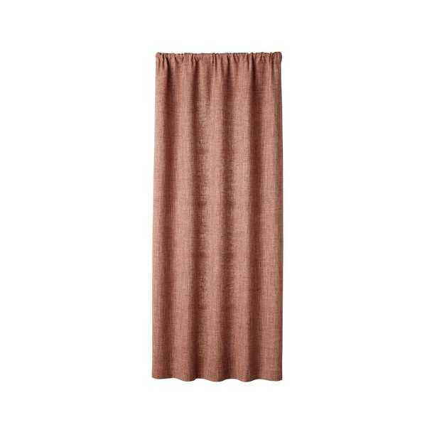 """Reid Canyon Curtain Panel 48""""x96"""" - Crate and Barrel"""