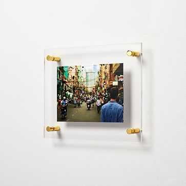 "Modern Acrylic Frame 5"" x 7"" Opening - West Elm"