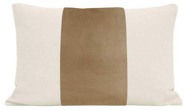 """The Little Lumbar :: PANEL Signature Velvet // Nutmeg - 12"""" X 18"""" - Little Design Company"""