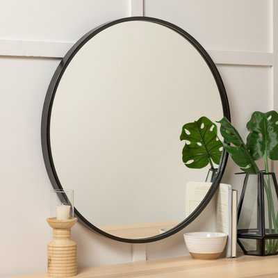 "Carmelita 30"" Round Wall Mirror - Wayfair"