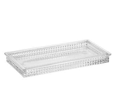 Pressed Glass Tray - Pottery Barn