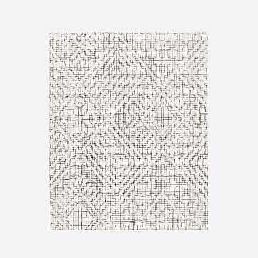 Stone Tile Rug, Alabaster, 8'x10' - West Elm