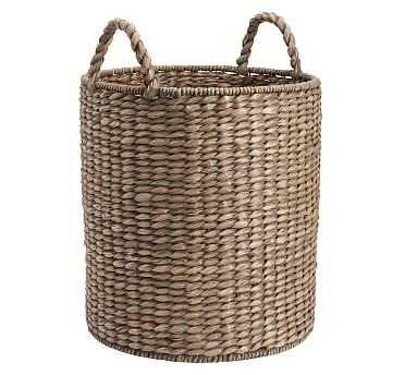 Charleston Basket, Tote - Gray - Pottery Barn