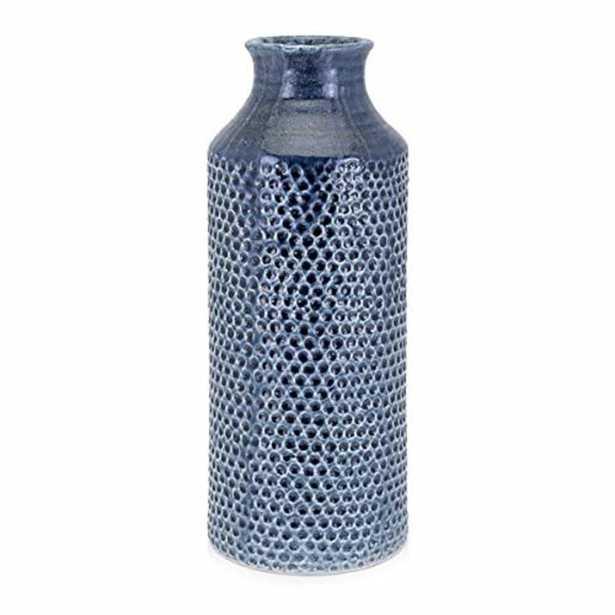 IMAX Skye Blue Large Vase - Home Depot
