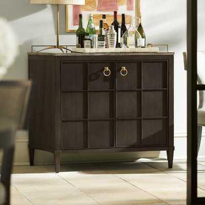 Garton Bar Cabinet - Wayfair