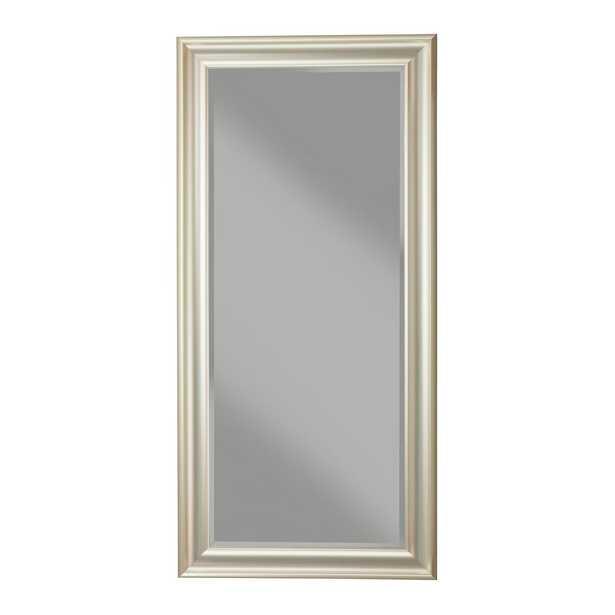 Brushed Bronze Full Length Leaner Mirror - Home Depot