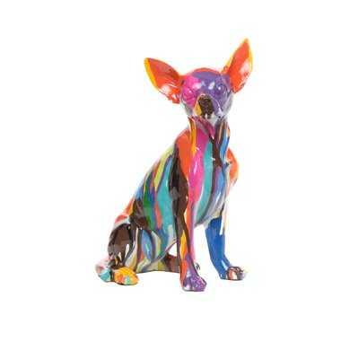 Graffiti Chihuahua Sculpture - Wayfair
