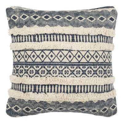 Shrum Cotton Ikat Throw Pillow - AllModern
