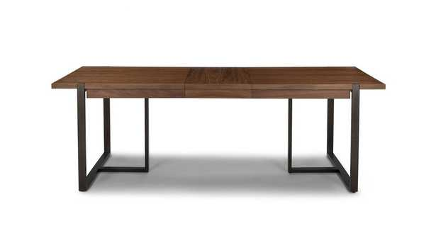 Oscuro Walnut Extendable Dining Table - Article