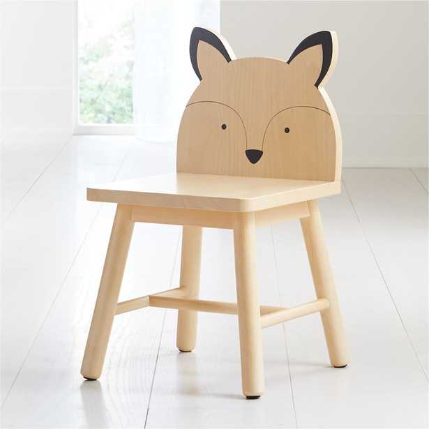 Fox Animal Kids Chair - Crate and Barrel