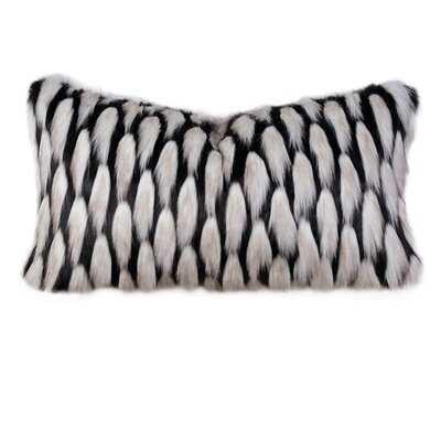 Barclay Butera Faux Fur Lumbar Pillow - Wayfair