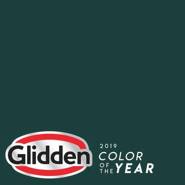 Glidden Essentials 1 gal. PPG1145-7 Night Watch Eggshell Interior Paint - Home Depot