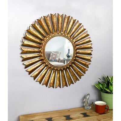 Soleil Eclectic Accent Mirror - Wayfair