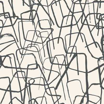 "Pennsbury 33' x 21"" Abstract Wallpaper - AllModern"