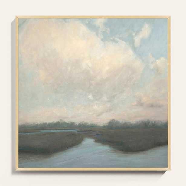 "Pastel Marsh Art  40"" x 40"" - Ballard Designs - Ballard Designs"