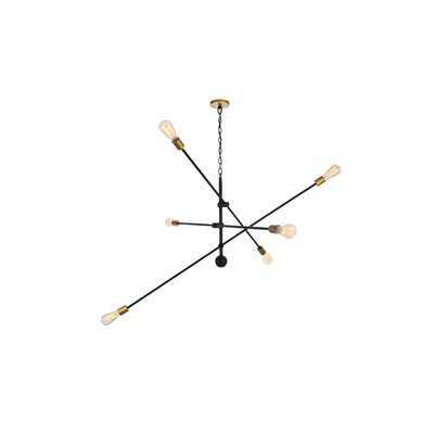 Johanne 6-Light Sputnik Chandelier - Wayfair