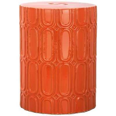 Zolan Ceramic Garden Stool - AllModern