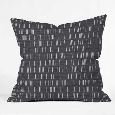 Holli Zollinger Bogo Denim Mudcloth Throw Pillow - Wayfair