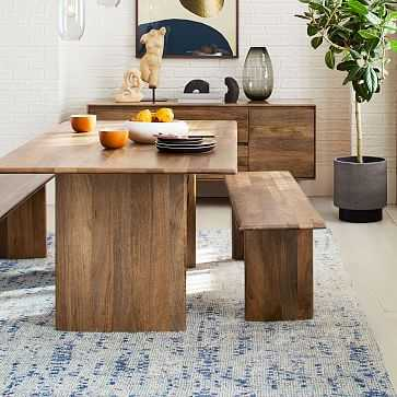 """Anton Solid Wood Dining Table, 72"""" - West Elm"""