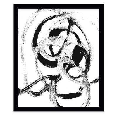 'Loop De Loop' Framed Print - AllModern