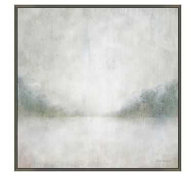 "Cool Landscape Framed Canvas, 20 x 20"" - Pottery Barn"