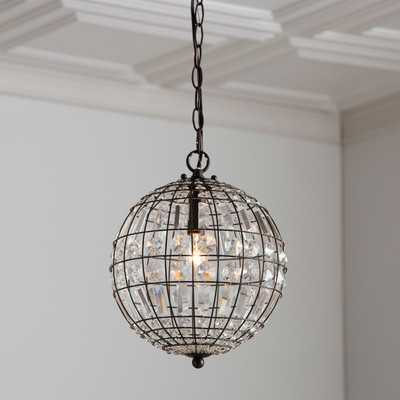 Elivra 1-Light Single Globe Pendant - Birch Lane