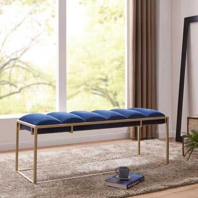 Livia Upholstered Bench - Wayfair