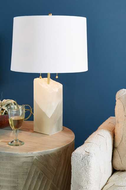 Alabaster Lamp Ensemble - Anthropologie