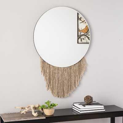 Lance Wall Mounted Mirror - Wayfair