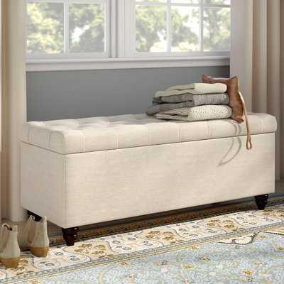 Anner Upholstered Storage Bedroom Bench - Wayfair