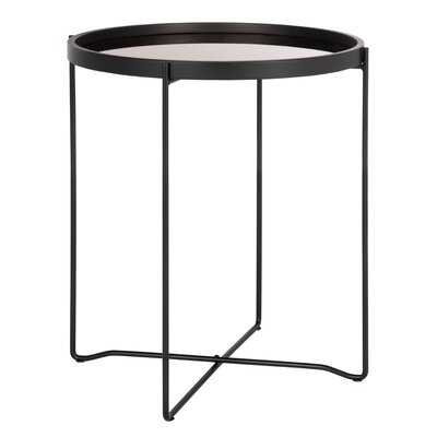 Ulloa Small Round Tray Top Accent Table - Wayfair