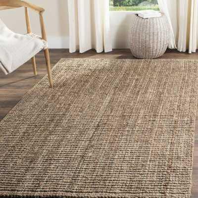 Nilles Handmade Flatweave Natural/Grey Area Rug - Birch Lane