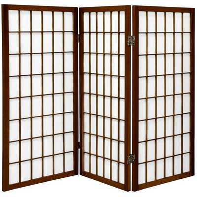 Marissa Shoji 3 Panel Room Divider - Wayfair