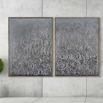 'Circular Logic' Print Multi Piece Image on Canvas - Wayfair