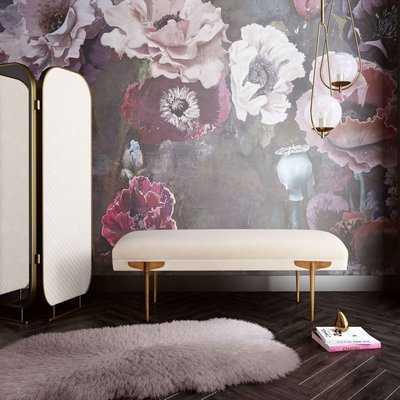 Corning Upholstered Bench - Wayfair