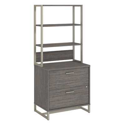 Method 2 Drawer Lateral Filing Cabinet with Hutch - Wayfair