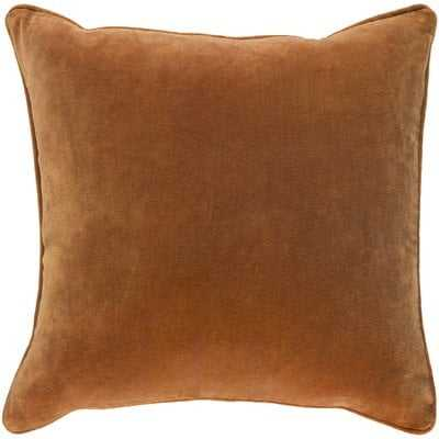 "Baylie Cotton 18"" Throw Pillow Cover - Birch Lane"